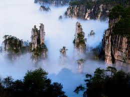Mist over Wuling Mountains