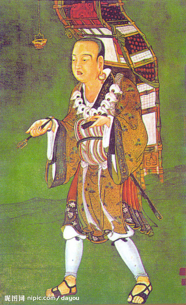 Xuanzang - Tang pilgrim and monk